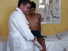 Natal twink squirting to hand doctors visit