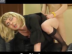 Get under one's brat copulates her brat in anal