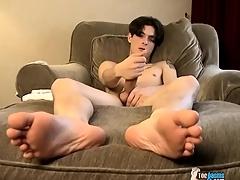 Twink David Unsatisfying rare has a fat cock he masturbates