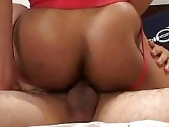 Bareback muscle interracial fucking