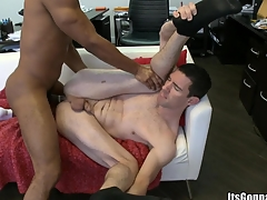 That attentive cadger desires to get all of his cum involving his mouth, enjoy