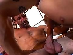 Physically gambol stud loves dick slamming