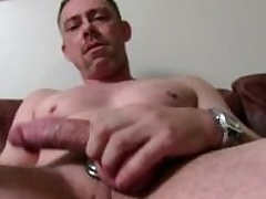 Sexy Out in the open Daddy Tucker Masturbating