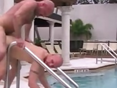Cole Sexton and Chad Brock have a go hot bareback intercourse outdoor