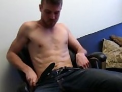 Unshaved Frankly Aaron Masturbating