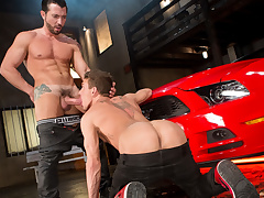 Jimmy Durano & Alexander Gustavo in Cruising Be incumbent on Ass, Instalment 03 - RagingStallion