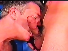 Cock famished old toff has a maturing stallion deeply banging his butt