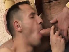Hot joyous bush-league enjoys bareback making love and gets a mouthful for hot semen