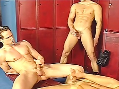 Locker section gays fanatic not present and conclude an ass fuck hawser not far from a threesome