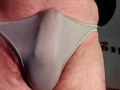 Pre-cumming in my pantie